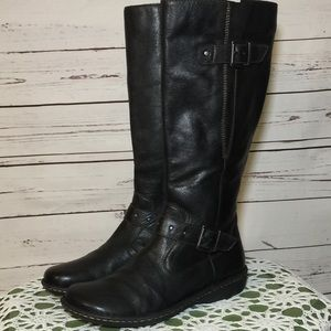 NEW BOC Espresso Brown Boots With Wide Calf